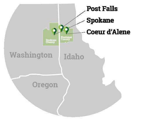 MedTran Spokane Service Area